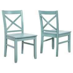 Carey Dining Chair Wood (Set of 2) - Threshold™