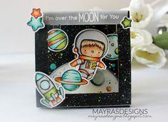 Mayras Designs, My Favorite Things , My Favorite Things Space Explorer, My Favorite Things Cards,