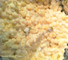 Jalapeno Cream Cheese Corn - Hardly fattening at all!!  lol