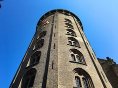 Some of the best views of Copenhagen are from the Rundetaarn observation tower in the center of the old town – a simple stroll up a spiral walkway ramp. Copenhagen Travel, Round Tower, Walkway, Nice View, Old Town, Denmark, Old Things, Building, Sidewalk