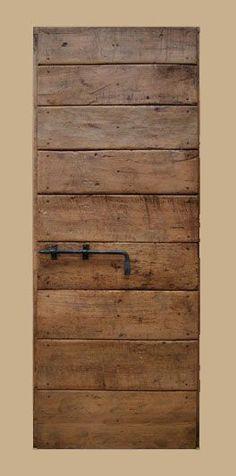 Riproduzione di una porta umbro-toscana realizzata in pioppo antic. Reproduction of an Umbrian-Tuscan door of the made of antique poplar patina. Consult the catalog of anti Old Doors, Internal Doors, Wooden Doors, Wabi Sabi, Door Design, Modern Design, New Homes, Woodworking, Antiques