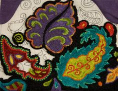 A blog devoted to the art & craft of rug hooking, wool dyeing, fine sewing and the random thoughts of a fiber artist.