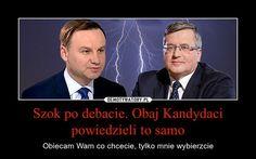 Debata Duda-Komorowski w TVN. Zobacz najlepsze memy! - Wiadomości