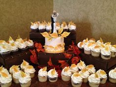 Wedding Cupcakes by Windy City Cakery