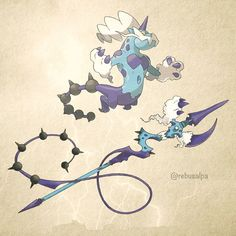 No. 642 - Thundurus (Therian). #pokemon #thundurus #longspear #pokeapon
