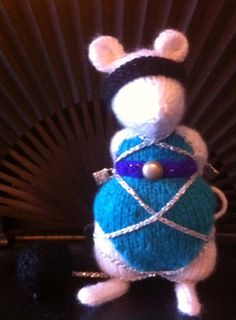 Alejandro escapologist Beth's mouse circus 2015 made by aunty Roz