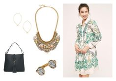 """""""Shirt dress"""" by meredith-josephine on Polyvore featuring Maeve and Stella & Dot"""