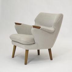 Kurt Olsen for Anderson & Bohm Danish Lounge Chair