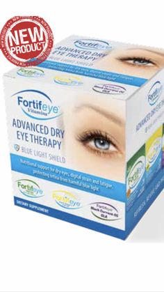 6432790c324 Fortifeye Advanced Dry Eye Therapy developed by Dr Michael Lange · Dry Eye  TreatmentNatural ...