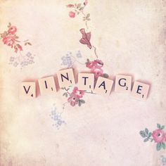 For the love of vintage <3