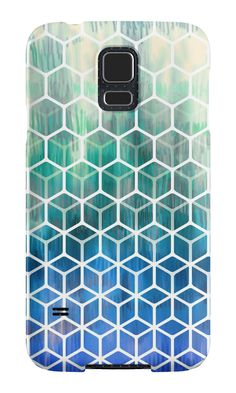 """The Geometry of Bees and Boxes"" Samsung Galaxy Cases & Skins by micklyn 