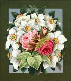 Vintage-Flower-Pictures-GraphicsFairy_01.jpg (1695×1950)