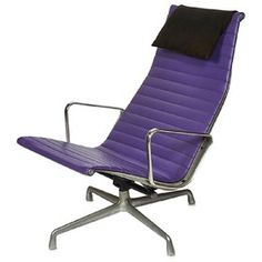 #EAMES ALUMINUM GROUP LOUNGE CHAIR Charles Eames (1907-1978) & Ray Eames (1912-1988) for @hermanmiller