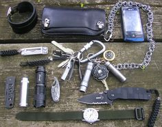 This is just the everyday gear I carry. Kind of a poor man's EDC.