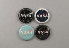 "1"" NASA buttons on etsy"