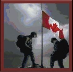 Remembrance Day Canada Remembering the sacrifice of those who didn't come home, the service of those who did and honouring those who still serve. We stand on guard for thee. Canadian Soldiers, Canadian Army, Canadian History, Canadian Winter, Remembrance Day Pictures, Remembrance Day Art, Chile, Canadian Things, Canada Day