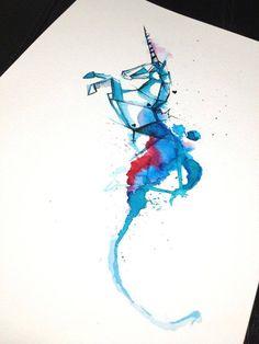 VICTOR OCTAVIAN's Watercolor Tattoos | Trend Bump