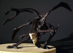 Pitch Black creature sculpt by ~Firebli9ht on deviantART