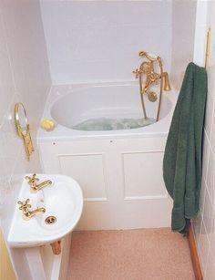 Details about The Bekko Bath Compact Range Japanese Deep Soaking Tub Cottage Bathroom Design Ideas, Bathroom Design Inspiration, Tiny House Bathroom, Bathroom Ideas, Bath Ideas, Cottage Bathrooms, Compact Bathroom, Bathroom Remodeling, Bathroom For Kids