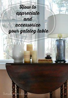 how to appreciate and accessorize your gateleg table wohnen deko esstisch beine wohnzimmer