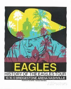 Eagles - History of the Eagles Tour Serigrafie von Print Mafia, Concert Poster