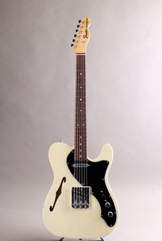 FENDER CUSTOM SHOP[フェンダーカスタムショップ] Masterbuilt 60s Telecaster Thinline NOS White Blonde by Paul Waller 2013 |詳細写真