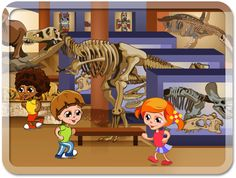 Game at the Museum by Iva Ivanova, via Behance