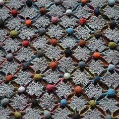 Sophie Digard crochet Scarf, Helaine - Selvedge