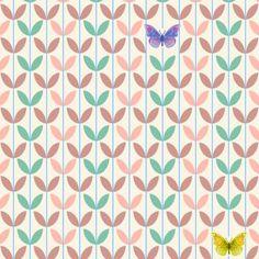 Lé de papier peint Envolée pour chambre Léopoldine Djeco - Magasin de Jouets pour Enfants