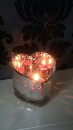PartyLite Warm Hearts Tea light holder