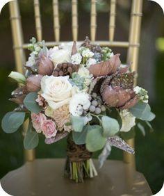 Fall Wedding Bouquet - Utah Events By Design / Photographer:  Tonya Peterson