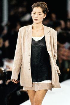 Calvin Klein Collection Spring 1994 Ready-to-Wear Fashion Show - Lucie de la Falaise