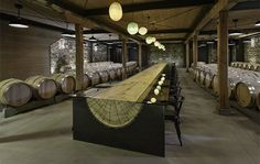 Signum Architecture Designs Hall Winery in Napa  Hall Winery's new Winery & Tasting Room is located on Napa, California's St. Helena campus. Designed by Signum Architecture, a Napa Valley-based firm that designs sustainable and contextual architecture for wineries, custom residential, and commercial buildings, the new winery is sited on a flat valley floor with views of Howell Mountain to the east and the Mayacamas Mountains to the west.
