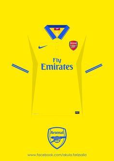 Arsenal 2005-2015 Kit Collection by Fariz Saila, via Behance