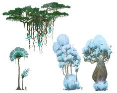 SMIRNOV SCHOOL I Школа цифрового рисунка Game Art, Drawings, Fantasy Art, Tree Art, Environment Design, Art, Alien Plants, Environmental Art, Art Tutorials