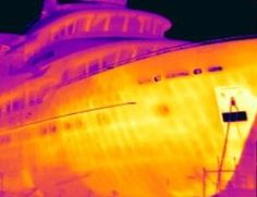 Offshore Marine Inspections (OMI) conducts Marine Thermal Imaging Surveys / Inspections (Infrared (IR) or Thermography) and Consultations. Thermal Imaging, Northern Lights, Aurora, Nordic Lights, Aurora Borealis