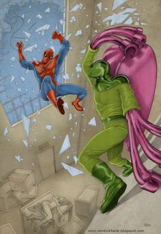 Spider-Man vs Beetle