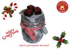 Bellakaker lager egne karameller til jul. Flere smaker. Ta kontakt på post@bellakaker.no for mer informasjon.