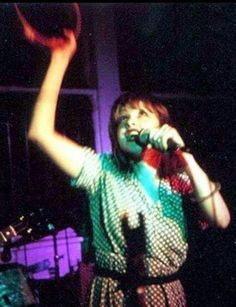 Cyndi Lauper when she was with Blue Angel