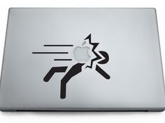 Haha, more MacBook stickers.