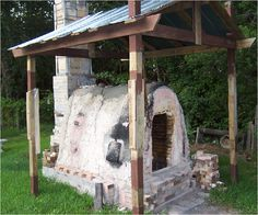 Our 40 cubic foot wood kiln in 2008...  Jerry Parnell and Amanda Heiser McCoy helped build and fire the Kiln in July 2007.