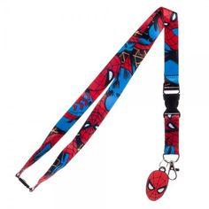 Marvel Comics: Spiderman Lanyard [Accessories]