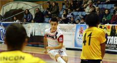 El ala gaditano Eloy Rojas, nuevo jugador del Jaén Paraíso Interior FS