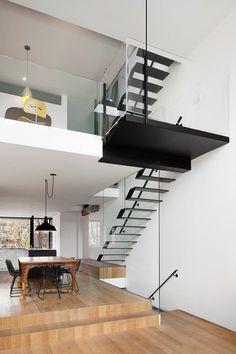 142 Kenilworth , Toronto, 2013 - Johnson Chou Studio #staircases