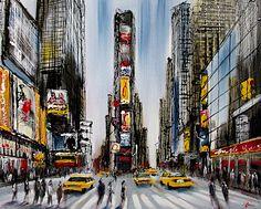 paul kenton Paul Kenton, A Level Art Sketchbook, Skyline Painting, Nyc Art, Sports Art, Urban Landscape, New York, Urban Art, Art Images
