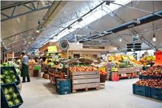 Landmarkt: a fresh supermarket & restaurant, amsterdam (North)