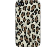 "Wrappz (iPhone 4 & 4S Case) - ""Leopard White"" available on: http://simplecastle.com/product-details.asp?id=1001"
