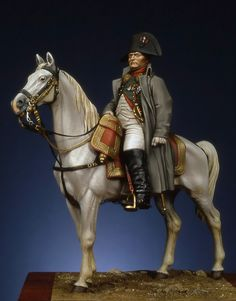 Napoléon à cheval - Virtual Museum of Historical Miniatures Plastic Soldier, Empire, Military Figures, Military Modelling, Virtual Museum, Miniature Figurines, Napoleonic Wars, Figure Model, Toy Soldiers