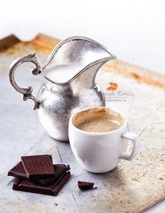 кофе. с молоком.