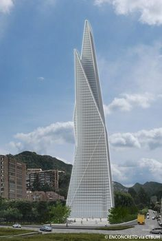 Enconcreto Tower, Bogota-Colombia |  228  m | Proposed 2015